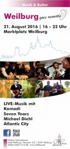 weilburg goes acoustic